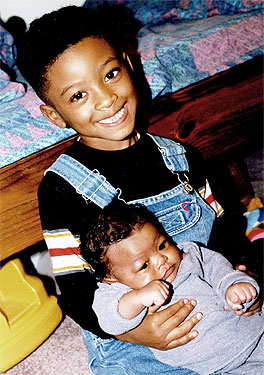 kenn II and baby spencer