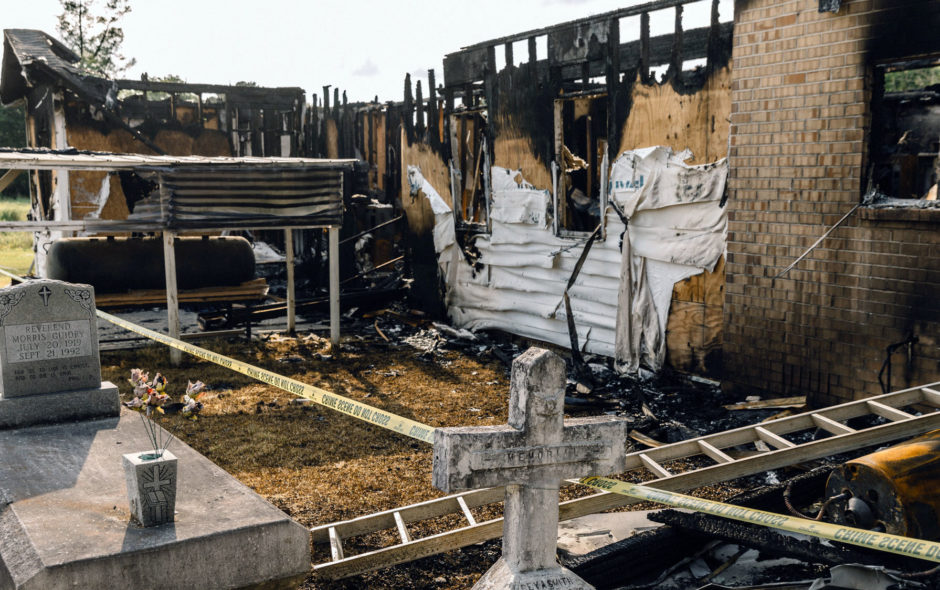 the Redacted History of the Burning Black Church